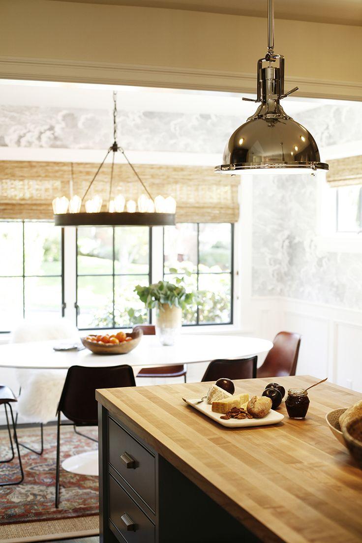 elegant remodeled seattle kitchen via mydomaine