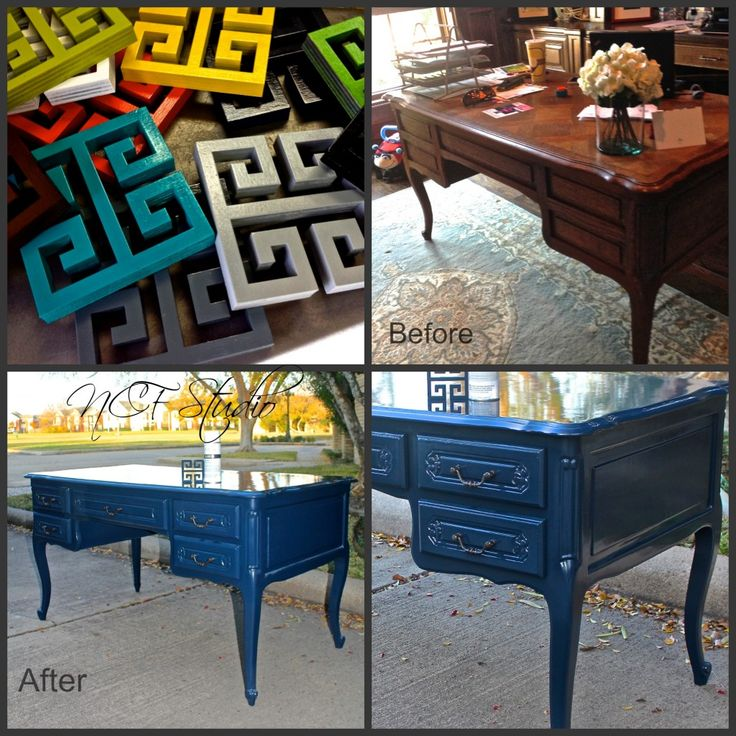 Before And After Of Project Completed With Amy Howard Furniture Lacquer Paint Ncf Studio