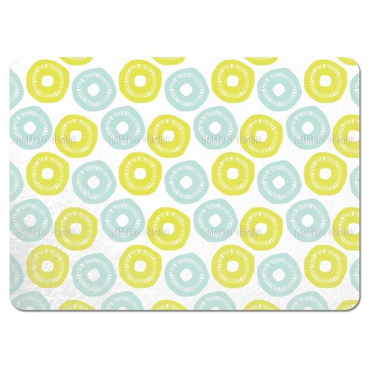 Uneekee Sunshine and Yellow Placemats