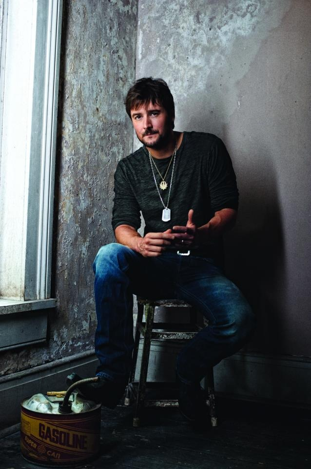 Eric Church - All you gotta do is put a drink in my hand.