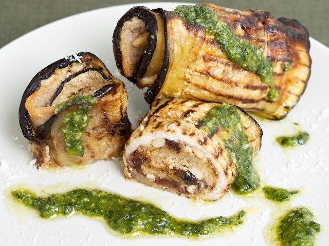 INVOLTINI DI MELANZANE E PESCE SPADA Un secondo ricco e dal gusto unico e avvolgente per rendere speciale una cena
