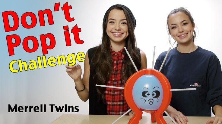 DON'T POP IT CHALLENGE - Merrell Twins