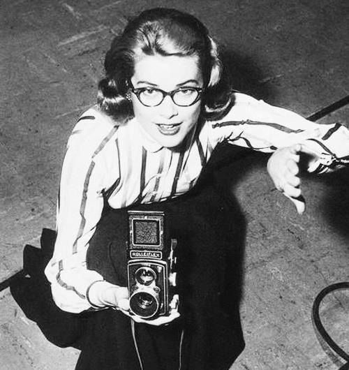 Grace Kelly and a Rolleiflex.