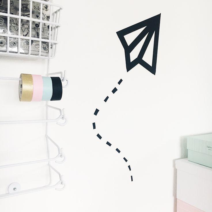 59 besten diy mit washi tape bilder auf pinterest. Black Bedroom Furniture Sets. Home Design Ideas