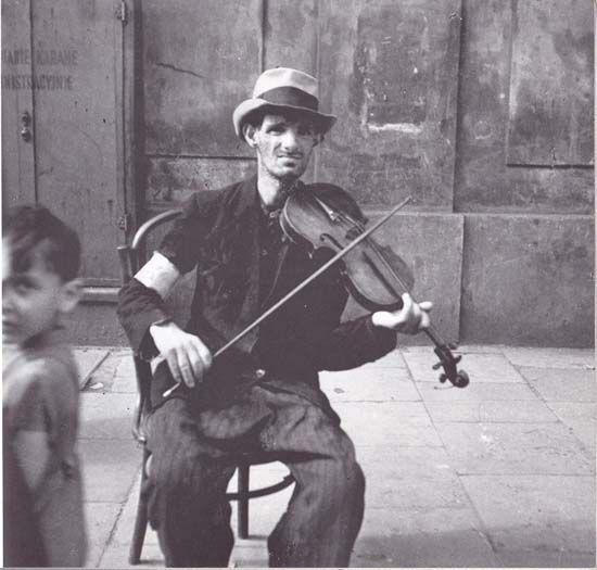Warsaw 1941, in the Ghetto