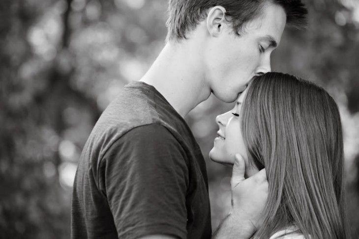 Besando a la chica adolescente dave blog