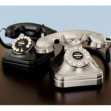 Retro Telephones - I have no need for a house phone...but these are so cute!