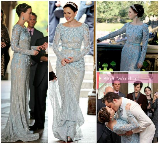 Blair waldorf wedding dress to chuck berry