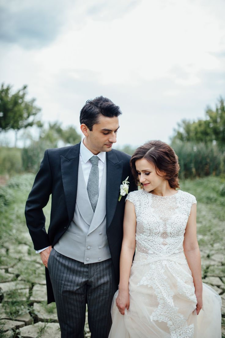Traditional Morning Suit   Whimsical Outdoor Wedding Ceremony In Romania   Crisp Green & White Colour Scheme   Images By Green Antlers Photography   http://www.rockmywedding.co.uk/mari-alex/