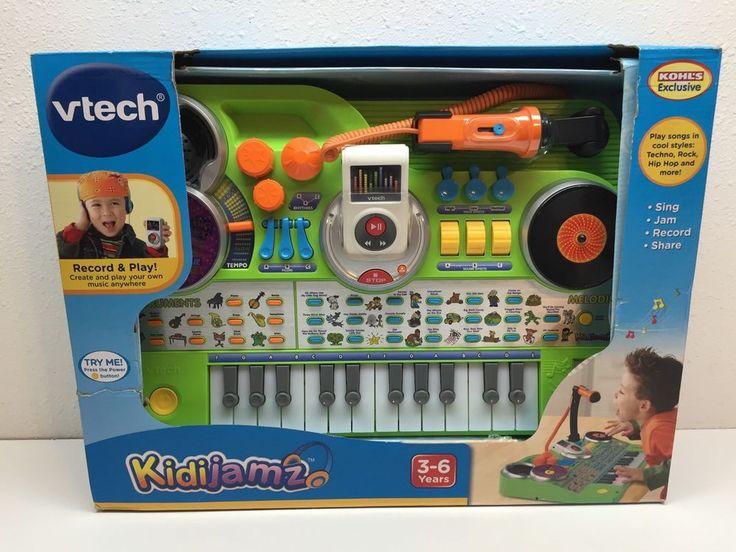 Vtech Kidijamz Kids DJ Studio Sing Jam Record Share Music Jam Beats Toy | eBay