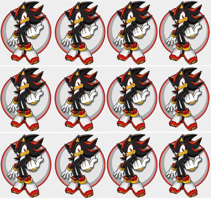 203 best Sonic The Hedgehog Printables images on Pinterest ...