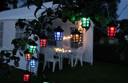 Party light, 10L ljusslinga Multi Star Traiding