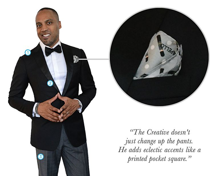 THE BEST TUXEDO FOR THE CREATIVE, Black Custom Dinner Jacket with Peak Lapel