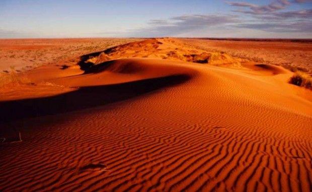 Le dune del Deserto Simpson in Australia