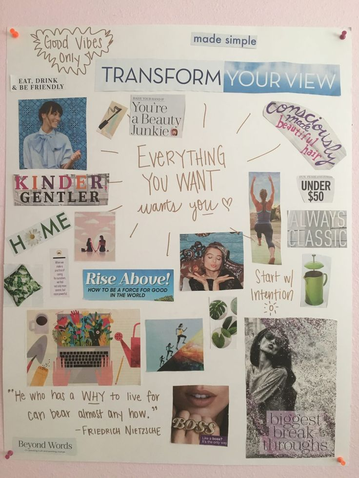 How Making a Vision Board Can Manifest Your Dreams – Tori | Fair + Frugal