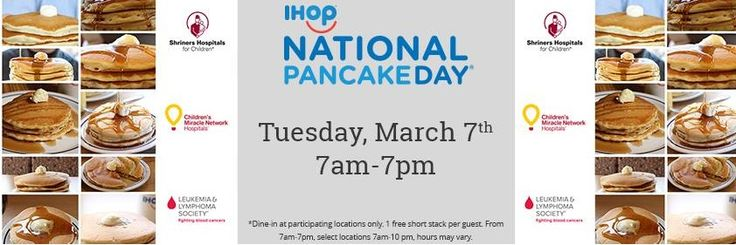 Ihop Free Pancakes Tuesday 3/7-17 Deal - https://couponsdowork.com/2017/restaurant-coupons/ihop-free-pancakes-tuesday-37-17-deal/