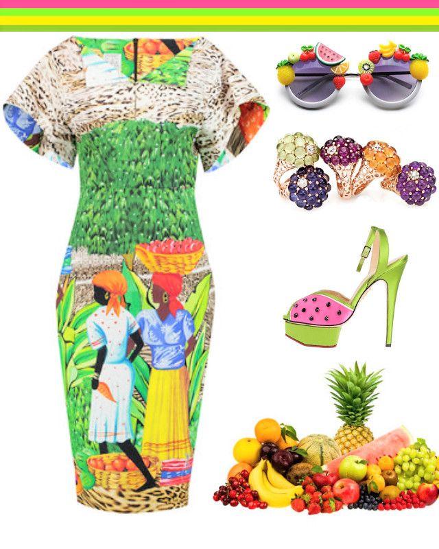 Un Fashion Cocktail esclusivo realizzato con le cromie più belle trafugate e mixate con: frutta di stagione