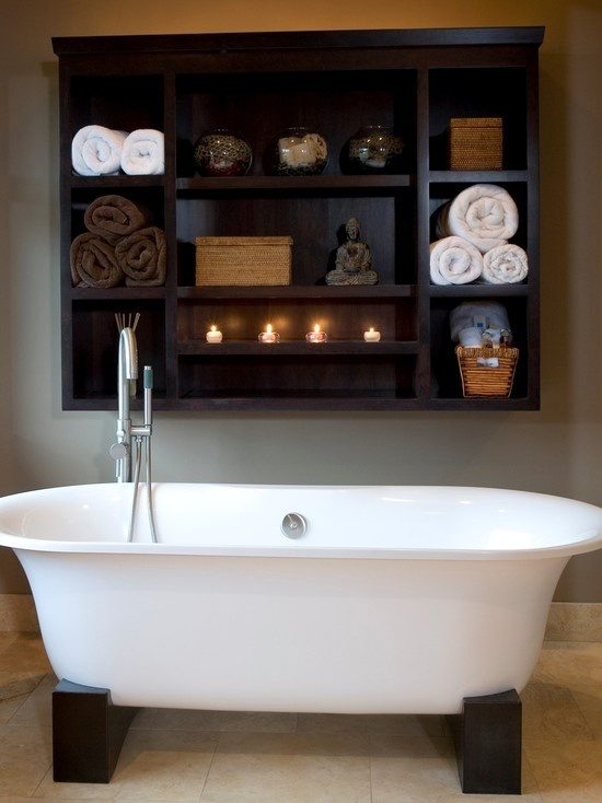 Great for bathroom storage in downstairs bathroom above the toilet