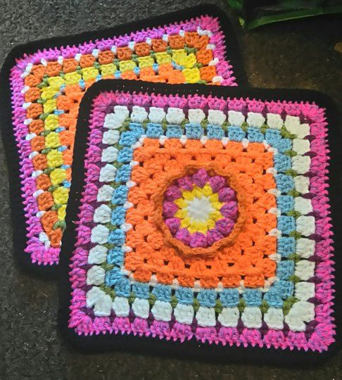 blanket inspired by Freda's flowers project bag. crochet project by Nicola B   LoveCrochet