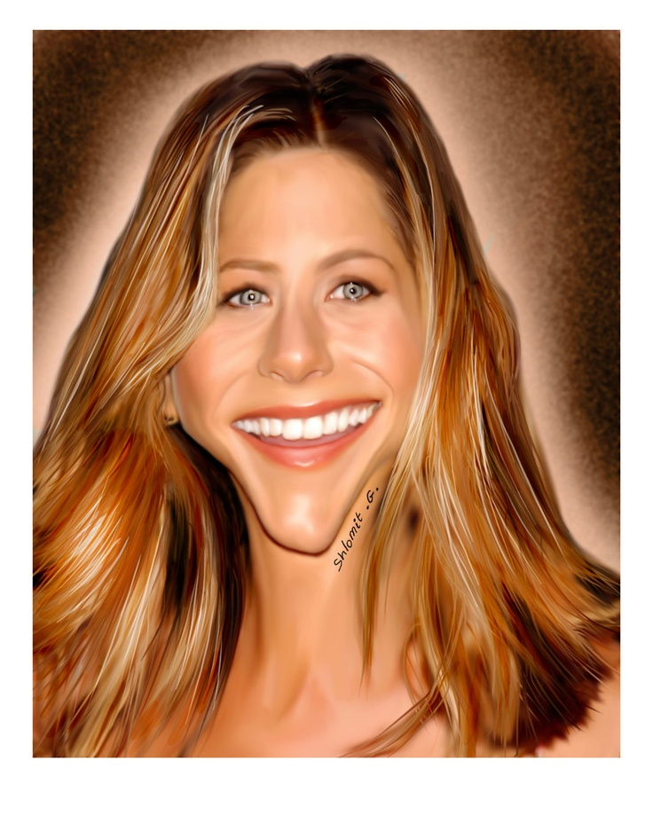 Jennifer Aniston (by shlomit)