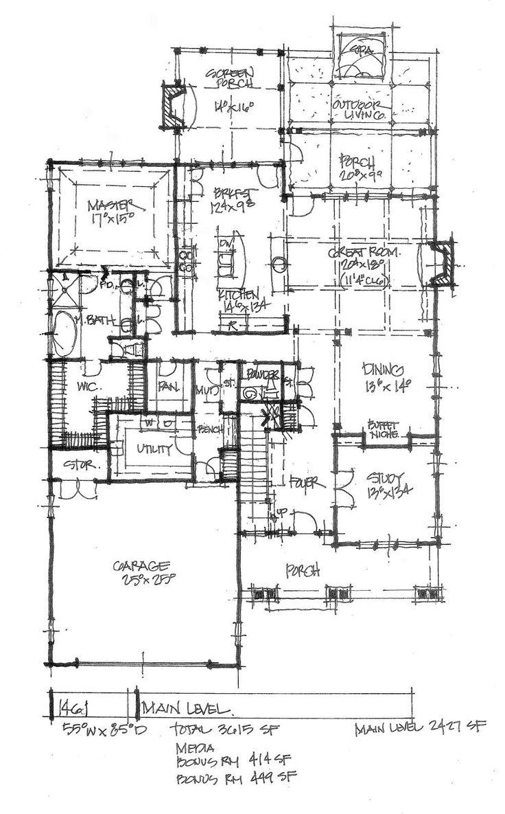 Medium house floor plans for Medium house plans