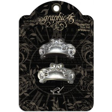 Graphic 45 Staples - Door Pulls - Shabby Chic