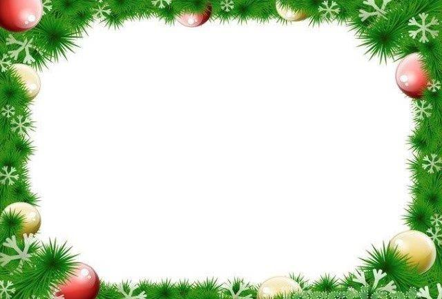 30 Bordas E Molduras De Natal Para Imprimir Aluno On Bordes Y