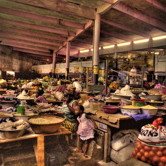 The Indoor Market, Guinea Conakry