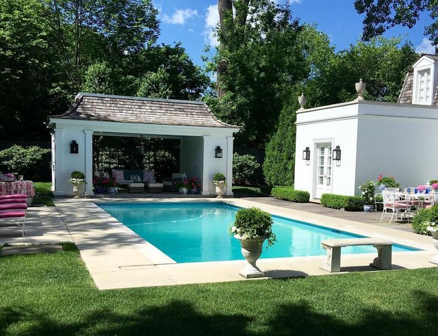 At Home With Shelley Johnstone Paschke Pool Housespool