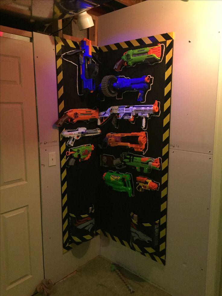 17 Best Ideas About Nerf Gun Storage On Pinterest Boys