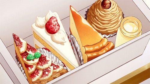 Cakes - Anime Cake | via Tumblr | We Heart It