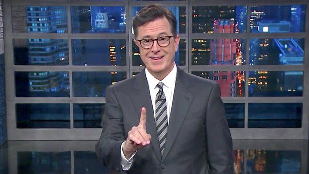 Stephen Colbert Has A Field Day With Donald Trump's 'Nambia' Screw-Up http://www.huffingtonpost.com/entry/stephen-colbert-trump-nambia_us_59c35b5ae4b063b25317d8aa?utm_hp_ref=donald-trump