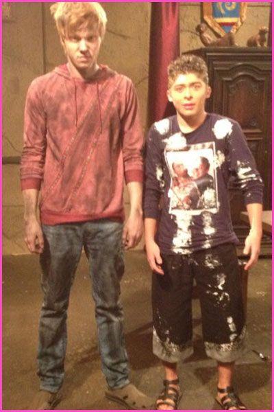 "Adam Hicks And Ryan Ochoa On The Set Of ""Pair Of Kings ..."