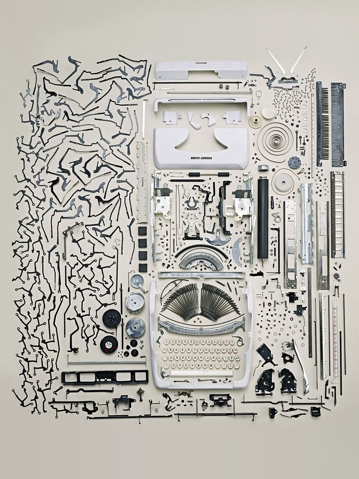 Les objets démontés de Todd McLellan objet demonte 02 photo