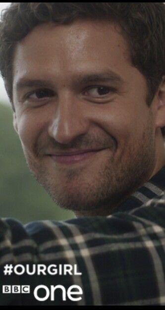 Ben Aldridge as Captain James from Our Girl. H-O-T-T hot!