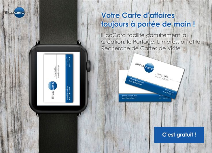 Carte d'affaires