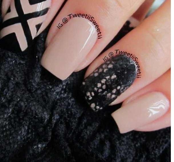 Beige and black nail designs gallery nail art and nail design ideas black  and beige nail - Black And Beige Nail Designs Image Collections - Nail Art And Nail