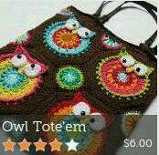 Owl totem bag