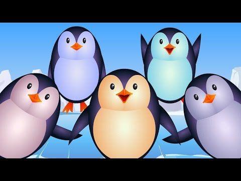 ▶ Five Little Penguins - YouTube
