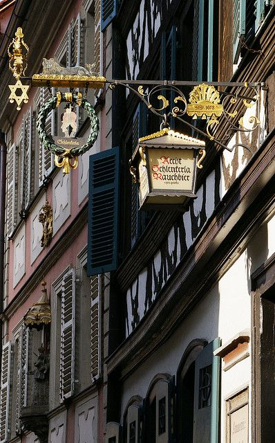 Schlenkerla Bamberg, Germany - Famous for it's unique Rauchbier! (smoked beer)