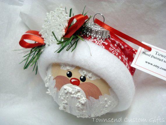 Santa Ornament Christmas Tree Bulb $14.95