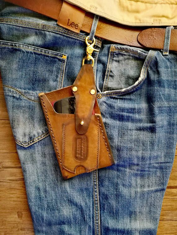 Phone Holster Leather Cell Phone Belt case Leather IPhone