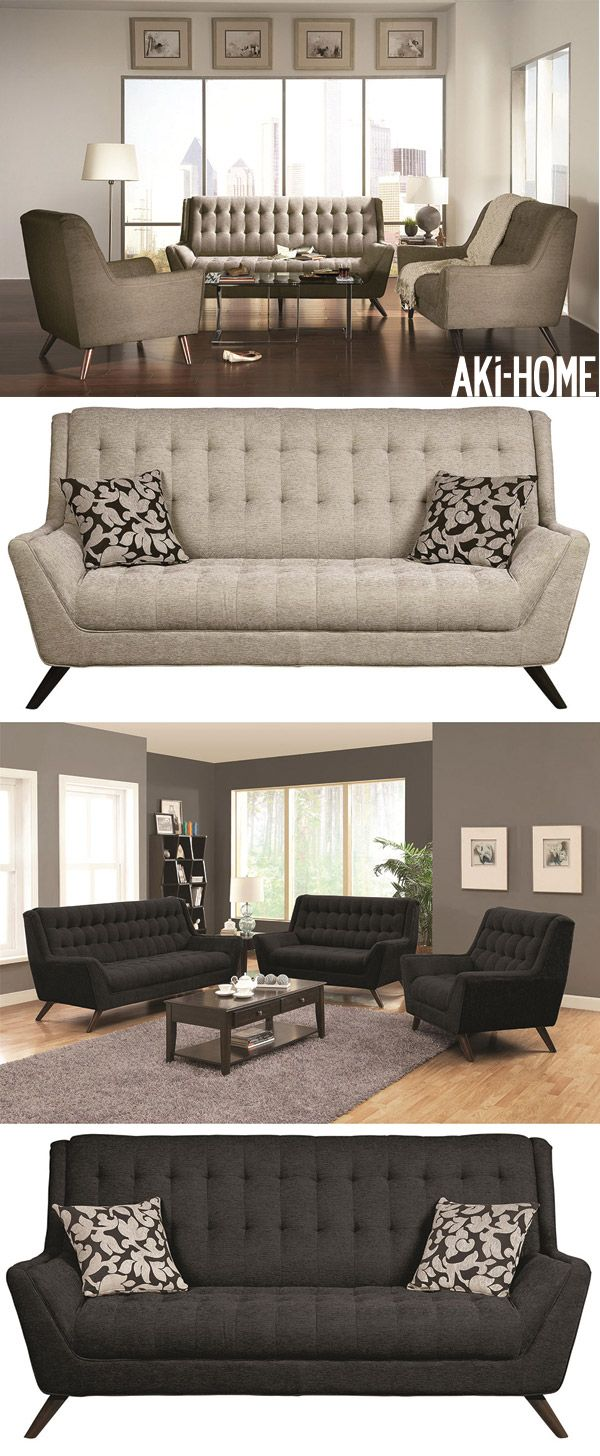 The Dexter Collection by Aki Home  With a retro contemporary design  the  sofa. 26 best Living Room Furniture images on Pinterest   Living room