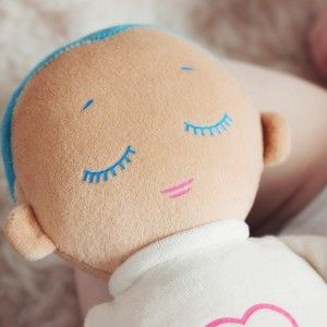 Our lovely little sleep helper the Lulla doll available at the Annerley Midwife clinic in Hong Kong