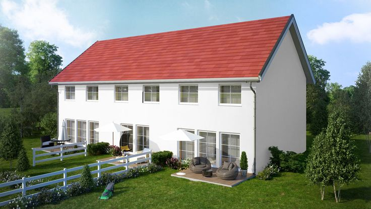 3D visualisation of a house planned in austrian Velm