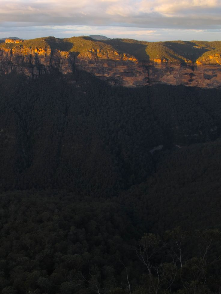 sunset from Evans Lookout