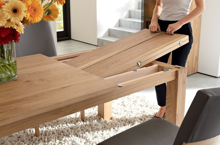 Charming Table Extensible Bois Massif