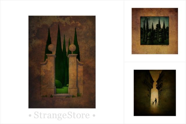Paul Stickland - The Secret Garden - Fine art prints from #StrangeStore