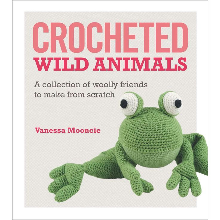 Check out this book of crochet amigurumi wild animals!