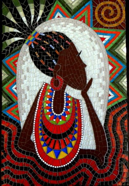 137 Best Images About African On Pinterest Africa African Beauty And Mosaic Portrait